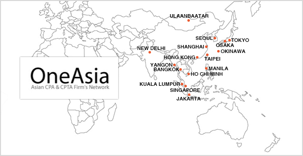 One Asia Asian CPA & CPTA Firm's Network